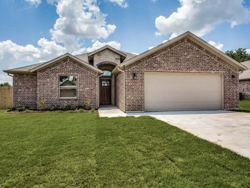 New Construction Homes in Tioga Texas